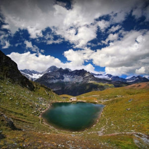 SQR27 - Rothorn Schwarzsee - Emerald Lake