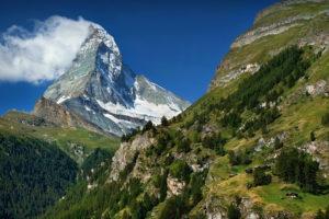 SLC18 - Zermatt - Cloudy Matterhorn