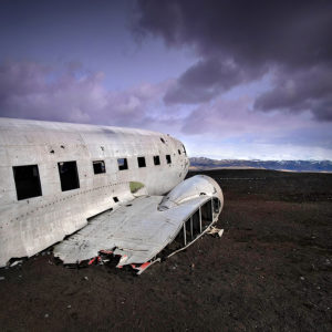 Iceland - DC3 Wreck 01