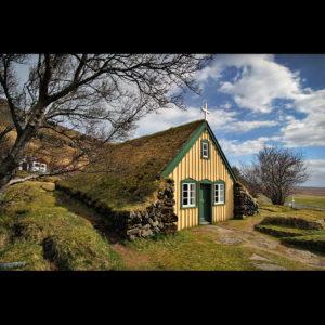 Iceland - Hofskirkja Turf Church