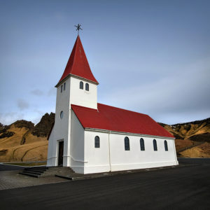 Iceland - Myrdal Church