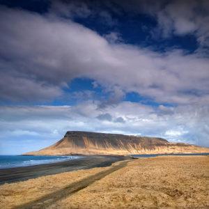 Iceland - Brimlarhofdi Coastal Cliff