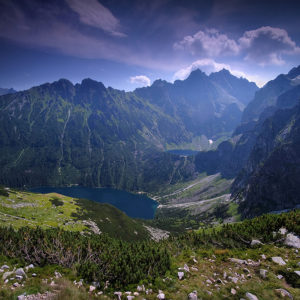 """Mountain Mirrors"" - Morskie Oko and Czarny Staw, Tatra Mountains, Poland"
