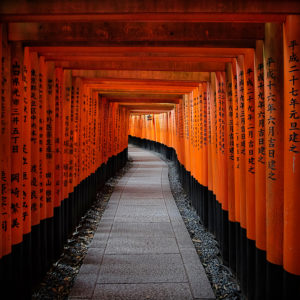 """Deep Red"" - Fushimi Inari-taisha, Kyoto, Japan"