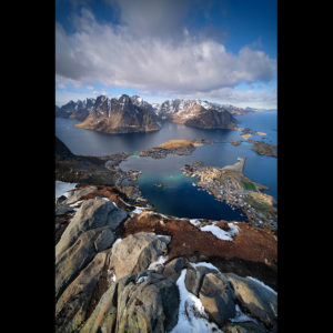 "Lofoten 02 - ""At the Top of the World Vol.1"" - Reinebringen, 448m"