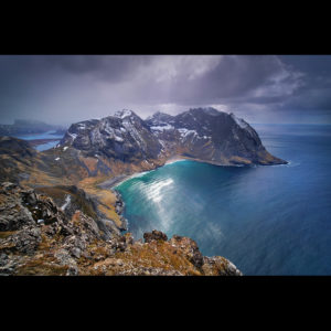 "Lofoten 03 - ""Ray of Light"" - Ryten, 543m"