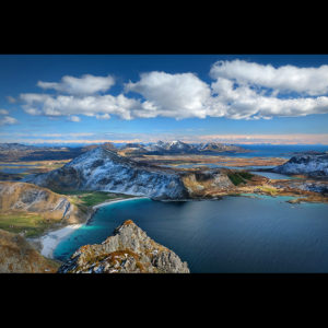 "Lofoten 07 - ""A bird's-eye View Vol.1"" - Veggen, 489m"