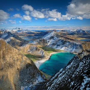 "Lofoten 35 - ""A bird's-eye View Vol.2"" - Veggen, 489m"